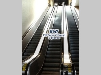 Escalator Cling B147